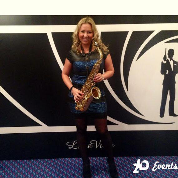 Saxophone player in the UAE