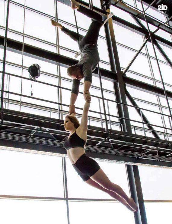 Duo trapeze in Dubai