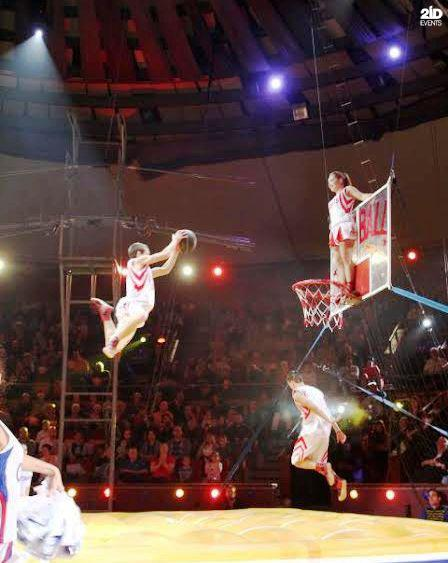 Basketball show in the UAE