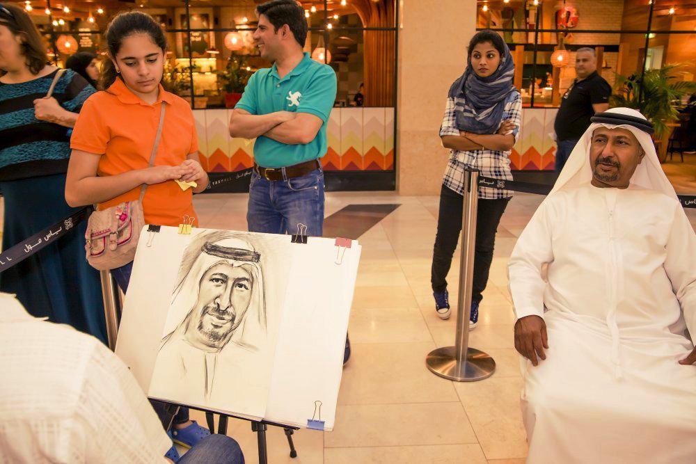 2ID - PORTRAITIST FOR EID AL ADHA CELEBRATION 2016