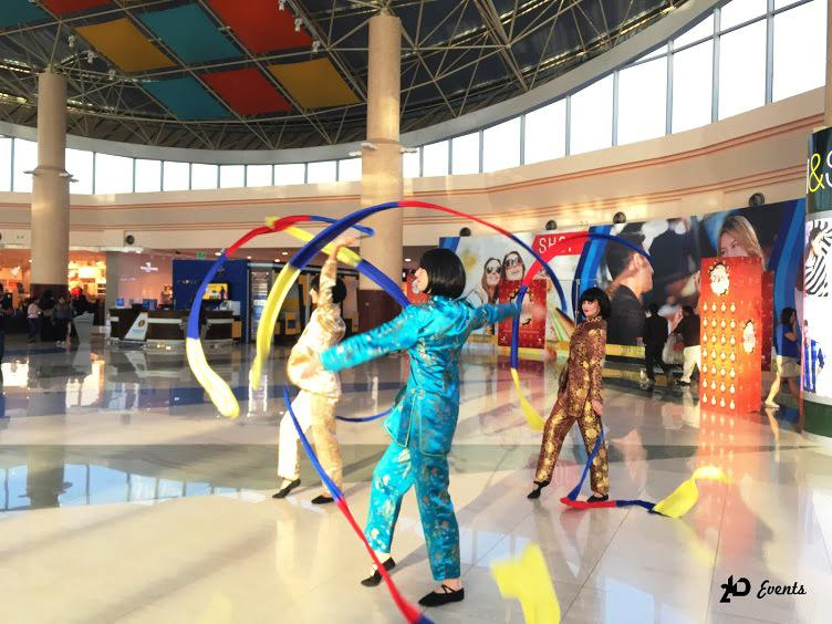 2ID - RIBBON DANCE FOR CHINESE NEW YEAR, RAS AL KHAIMAH