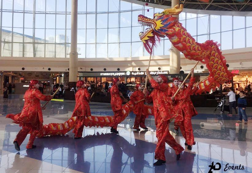 2ID - DRAGON DANCE FOR CHINESE NEW YEAR, RAS AL KHAIMAH