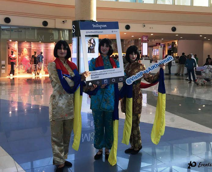 2ID - RIBBON DANCE FOR CHINESE NEW YEAR, RAS AL KHAIMAH