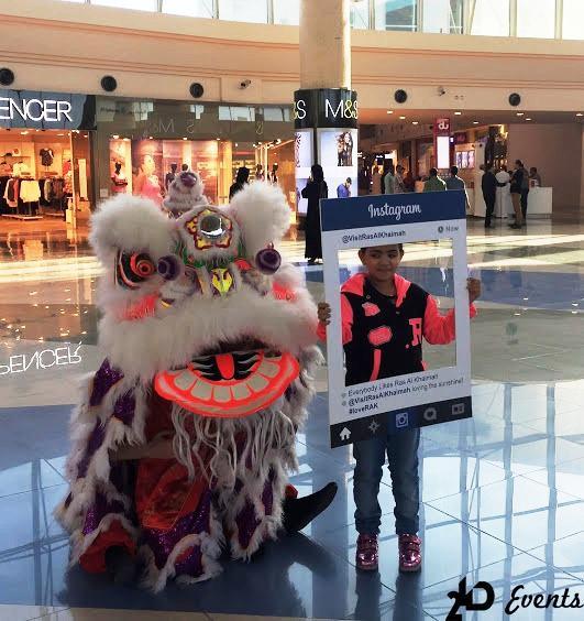 2ID - LION DANCE FOR CHINESE NEW YEAR, RAS AL KHAIMAH