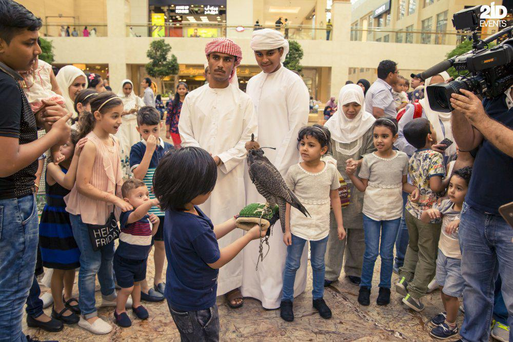 2ID - FALCON DISPLAY FOR EID AL ADHA CELEBRATION 2016