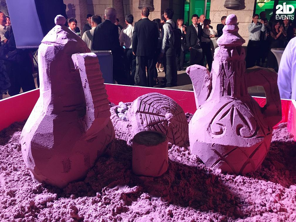 2ID - SAND SCULPTURE FOR THE ARABIC CULTURE EVENT