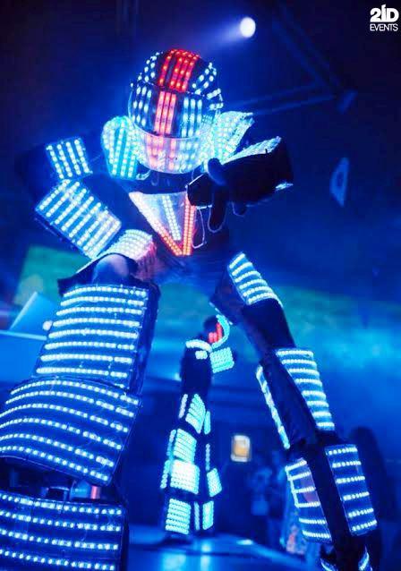 Robots dance show in Dubai