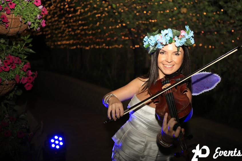 2ID - VIOLINIST FOR THE GRAND OPENING OF THE MIRACLE GARDEN