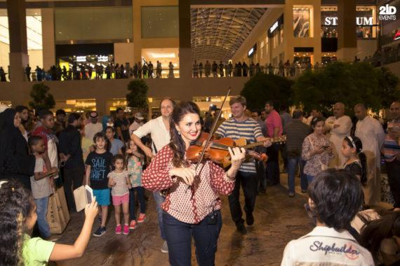 Musical Flashmob in Dubai