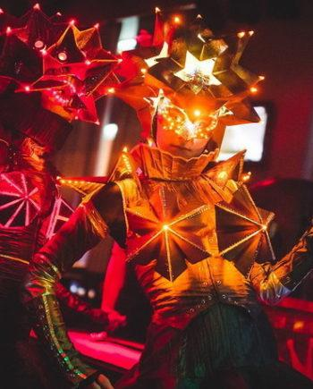 LED Origami Dance Show in Dubai
