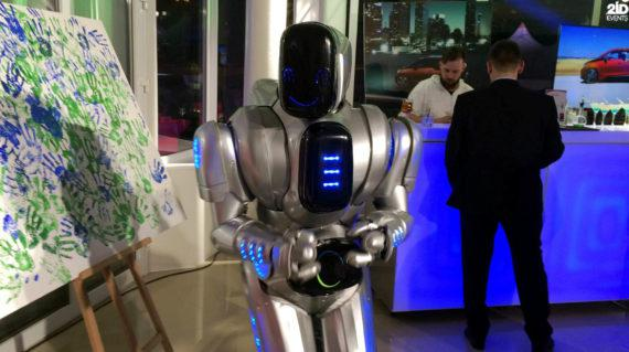 Friendly Robot in Dubai