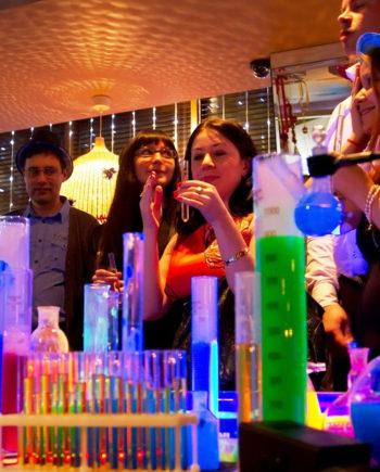 Welcome Drink Show in Dubai