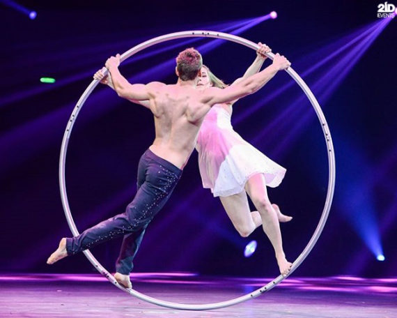 Cyr Wheel Duo in Dubai