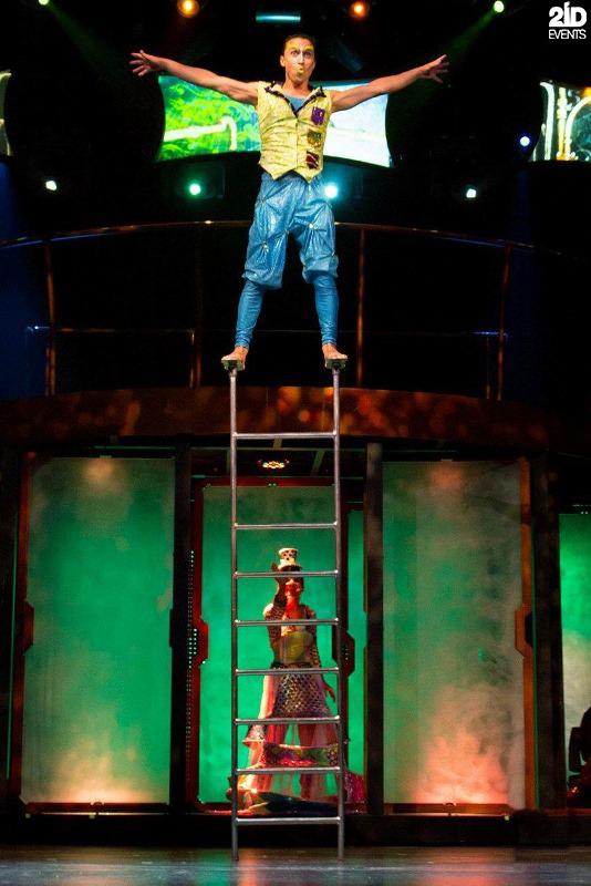 Ladder Acrobat in Dubai