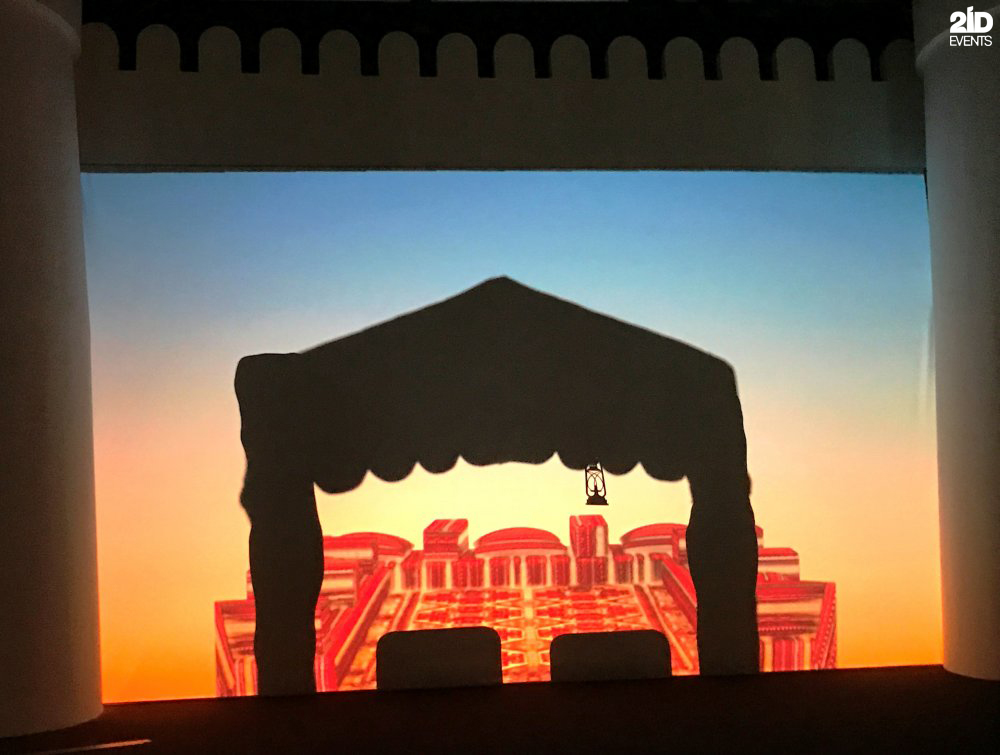 SHADOW SHOW FOR PUBLIC EVENT