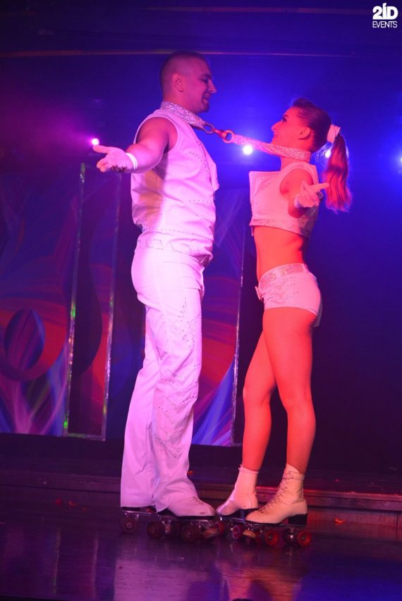 Roller Skate Act Duo in Dubai