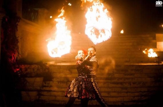 Theatrical Fire Show in Dubai
