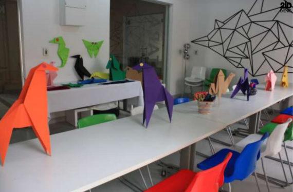 Origami Workshop in Dubai