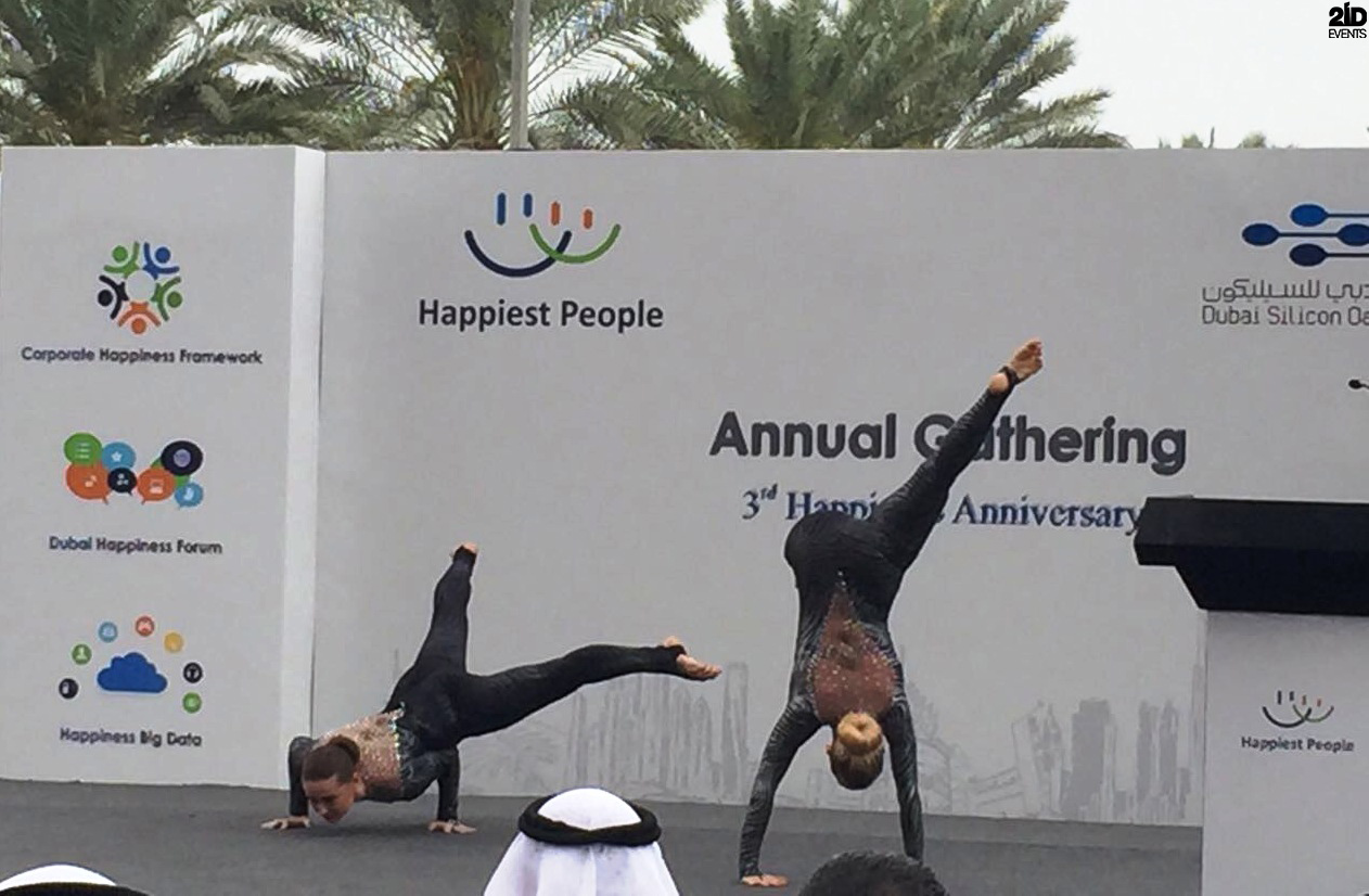 ACROBATIC SHOW FOR CORPORATE ANNIVERSARY