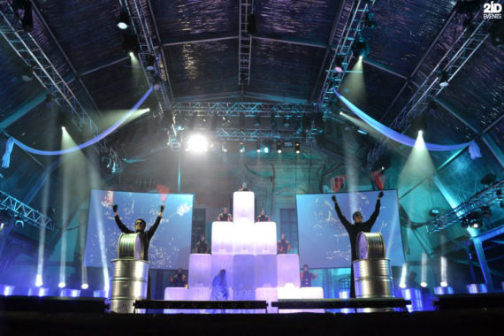 Synchro Drums Performance in Dubai