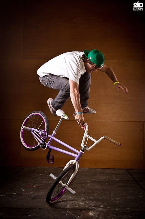 BMX Flatland show in the UAE