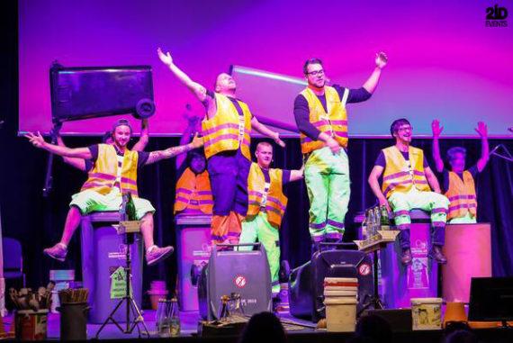 Unusual Percussions` Band in Dubai