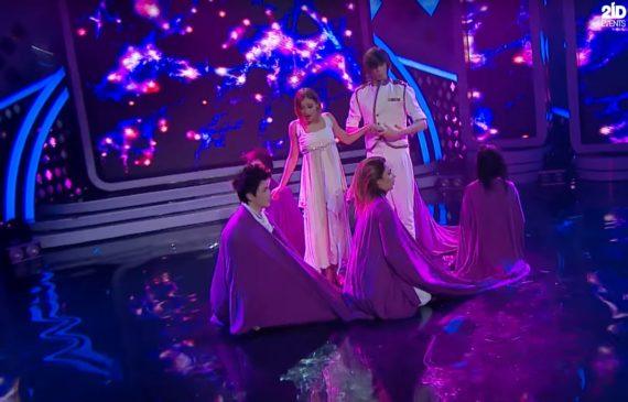 Unifying Skirt Dance in Dubai
