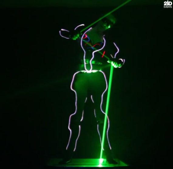 Lordess of Lasers in Dubai