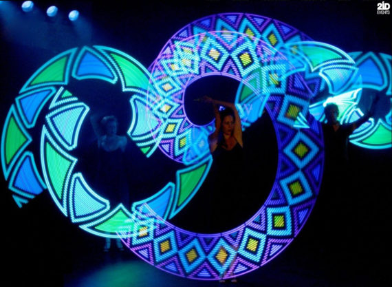 Light Kaleidoscope Show in Dubai