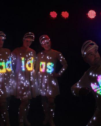 Brand Displaying Dancers in Dubai