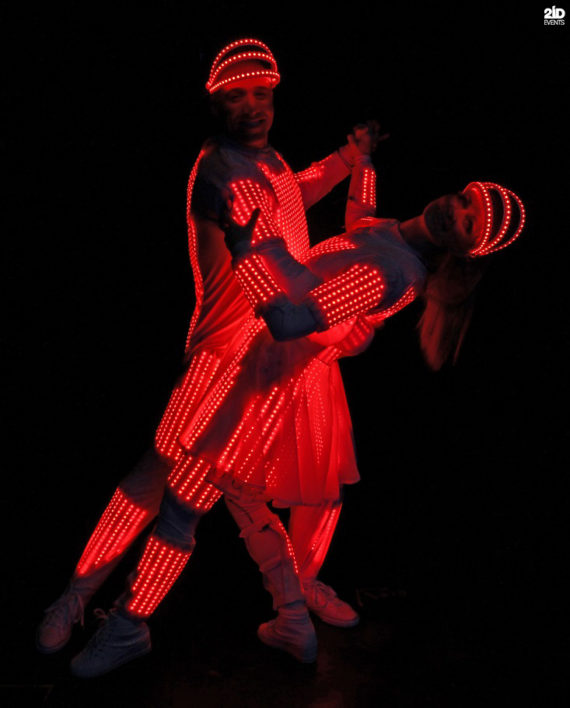 Brand Displaying Dancers in Dubai