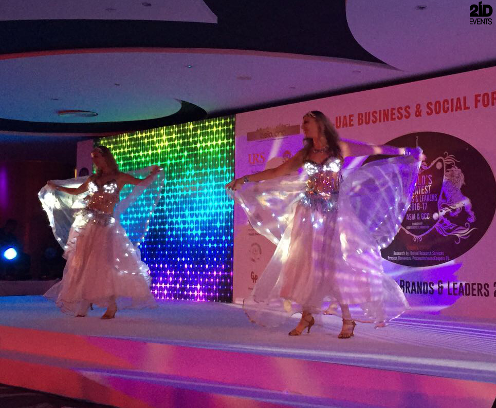 ENTERTAINMENT FOR INTERNATIONAL BUSINESS FORUM