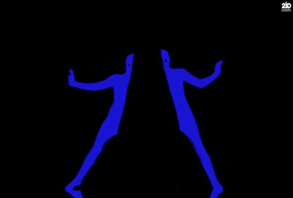 UV Glow Contour Pantomime in the UAE