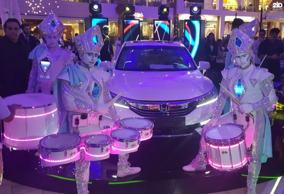 Silver Drummers Group in the UAE