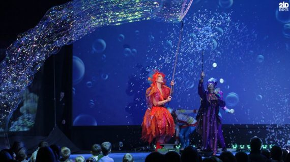Underwater Theme Show in Dubai