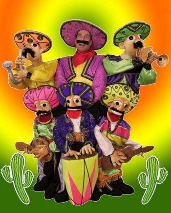 Puppet Latino Band in Dubai