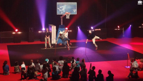 Interactive Basketball Show in Dubai