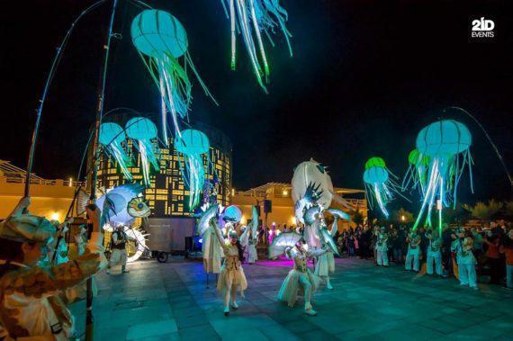 Underwater parade in the UAE
