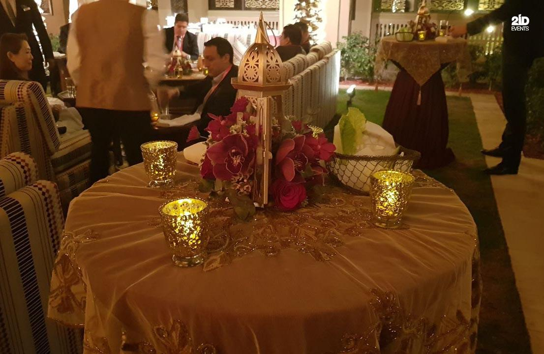 2 - ARABIAN STYLE DECOR FOR CORPORATE EVENT