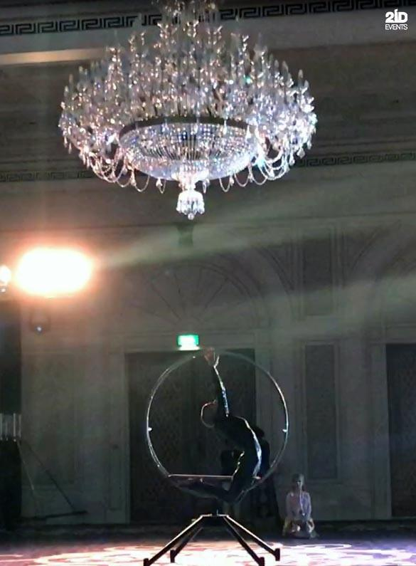 REVOLVING RING SHOW FOR PRIVATE EVENT