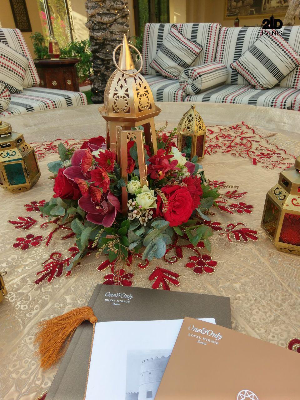 6 - ARABIAN STYLE DECOR FOR CORPORATE EVENT
