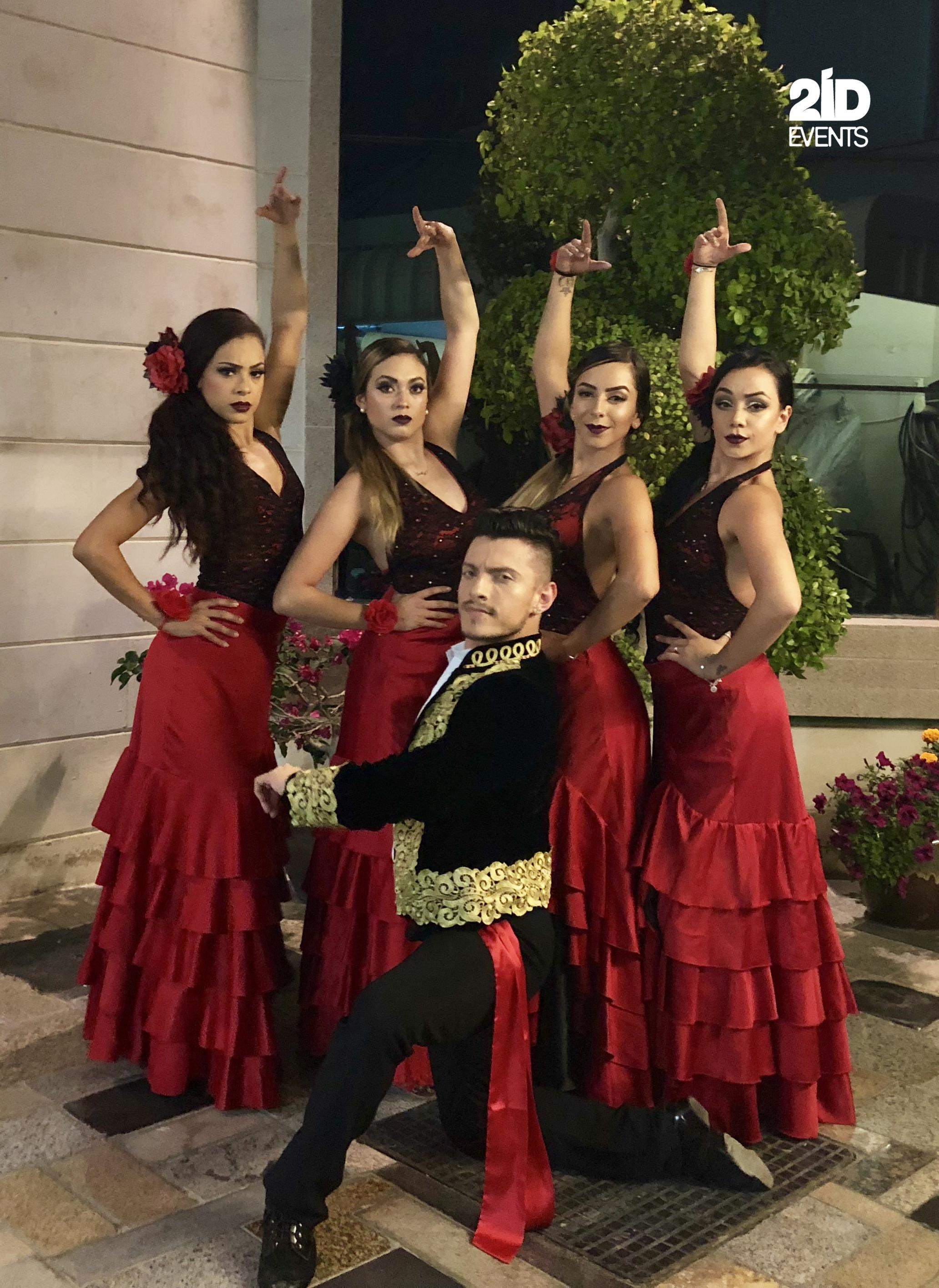 SPANISH DANCE FOR THE PRIVATE EVENT