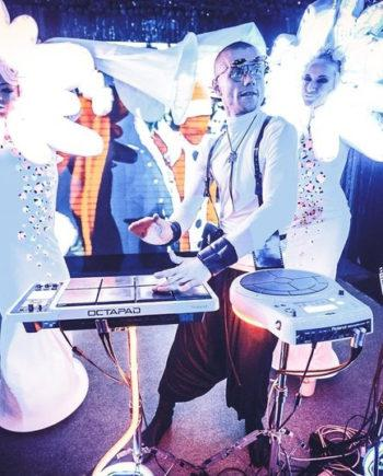 LED ELECTRO DRUM SHOW IN DUBAI