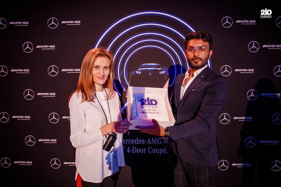 Entertainment Services for Mercedes Car Launch