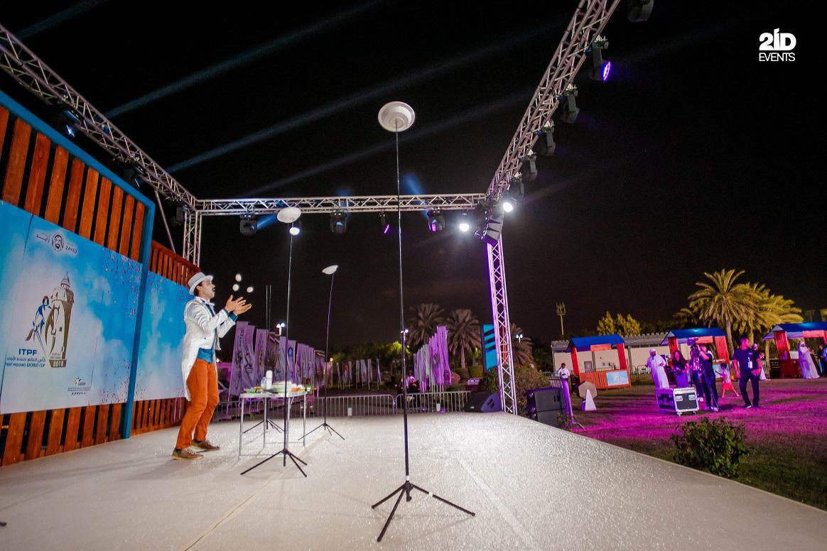 34 - ENTERTAINMENT FOR TENT PEGGING CHAMPIONSHIP 2018