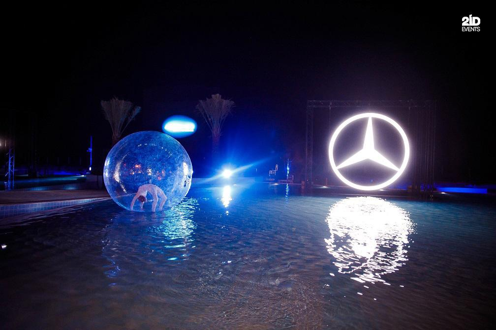 7 - ENTERTAINMENT SERVICES FOR MERCEDES CAR LAUNCH