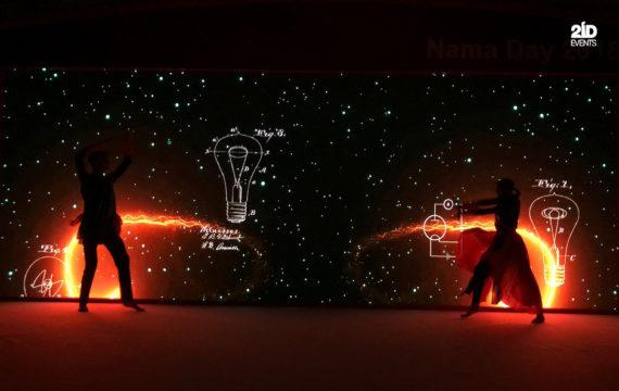 DANCE WITH PROJECTION - OMAN