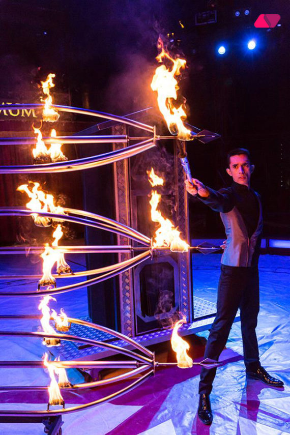 EXTREME ILLUSION SHOW IN DUBAI
