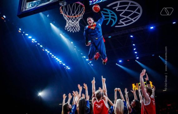 EXTREME BASKETBALL SHOW IN THE UAE