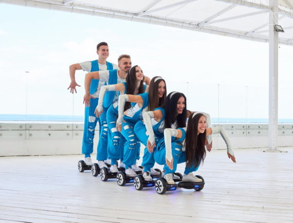 HOVERBOARD SHOW IN DUBAI